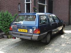 Mitsubishi Wagon 1500 GL 1986 Apeldoorn (willemalink) Tags: mitsubishi wagon 1500 gl 1986 apeldoorn