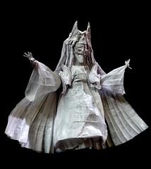ORIGAMI - PRINCESS KAGUYA / RABBIT GODDESS / Kaguya Ōtsutsuki !! (Neelesh K) Tags: moon rabbit origami princess goddess naruto neelesh kaguya boxpleating ōtsutsuki