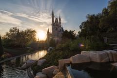 Another Castle Sunset (Allen Castillo) Tags: waltdisneyworld disney wdw magickingdom cinderellacastle sunset orlando florida themepark nikond610 nikon1424
