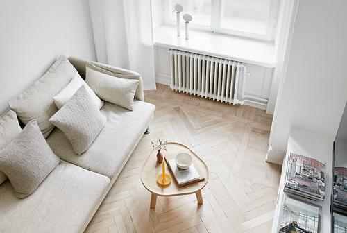 Функциональный дизайн квартиры площадью 18 квадратных метров