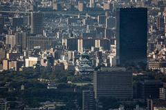 Osaka Castle look smaller (shinichiro*) Tags: 20160623sdim3729 2016 crazyshhin sigmasd1merrill sd1m sigma18300mmf3563dcmacrooshsm june summer osaka abenoharukas    japan