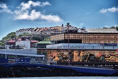 Gothenburg view (Maria Eklind) Tags: reflection gothenburg gtalv vatten spegling sweden water cityview europe city gteborg vstragtalandsln sverige se