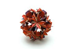 Wisteria (Akizhi) Tags: art paper origami craft modular kusudama