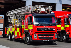 NK10DVY (firepicx) Tags: gateshead tnye tyne wear fire rescue service twfrs newcastle pumps alp aerial ladder platform pump wrlet osu operational support nk10dvy 999 emergency uk british appliance