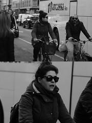 [La Mia Citt][Pedala] (Urca) Tags: milano italia 2016 bicicletta pedalare ciclista ritrattostradale portrait dittico nikondigitale mir bike bicycle biancoenero blackandwhite bn bw 872117