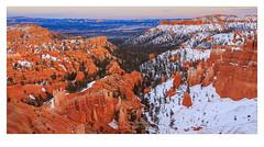Bryce Canyon NP (http://weekendtravelersblog.blogspot.com/) Tags: brycecanyonnationalpark utah rimtrail unitedstates winter nationalpark snow