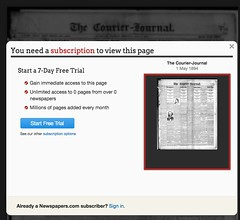 You need a subscription to view this page. Newspapers.com (stevegarfield) Tags: iphone4