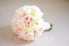 buchet mireasa trandafiri de gradina roz pal (IssaEvents) Tags: buchet mireasa superb culori pale roz si ivory bucuresti valcea slatina issamariage issaevents