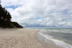 dbki beach (2) (kexi) Tags: beach sand horizon sea balticsea dbki polska poland june 2015 canon view panorama seaside shore coast water instantfave