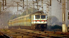 Garibrath Express (Ankur) Tags: garibrath express wap7 railfanning indian railways