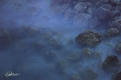 sleepy water ibiza (jimmyafc) Tags: ibiza rocks nd filter foam water spain nikon d3200 silk