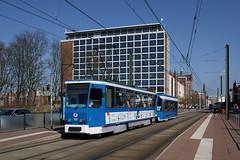 RSAG Rostock T6A2 705+756 (geschi1987) Tags: krpelinertor rostock tram strasenbahn rsag