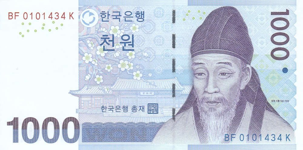 1.000 won
