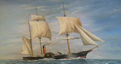 Cunards first ship? (Tom Kennedy1) Tags: cunard cunardsteamshipcompany cunardsqueenvictoria cruiseships cunardsbritannia