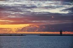 Exposure (Herman Verheij) Tags: sunset zonsondergang markermeer lelystad exposure