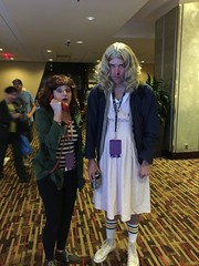 Stranger Things, Joyce and Eleven (marakma) Tags: strangerthings eleven joycebyers cosplay dragoncon2016
