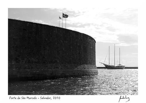 Forte de São Marcelo - Salvador, 2010