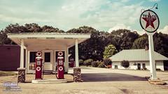 Vintage Texaco (The Suss-Man (Mike)) Tags: 52in2016 city gasstation georgia jacksoncounty oldbuildings oldcity rural ruralcity ruralgeorgia sonyslta77 sussmanimaging talmo texaco themeprocessedbeforeandafter thesussman week39 unitedstates
