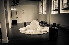 Tracy Evans CORD 20160913_005 (Mooganic) Tags: tracyevansperformance carnegiehouse bridgend wales art theatre birth cord