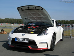 FlyingLap - IMG_0207 (nissansports) Tags: nissan fairlady z34 370z nismo white weiss flyinglap trackday 2016 schlsselfeld adac fsz fahrsicherheitszentrum nordbayern bamberg germany deutschland oberfranken
