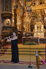 Irena Parada actuando en la Catedral