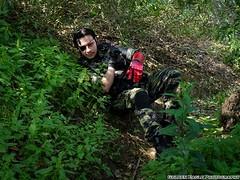 Sesin Cosplay - Jardn Japons (Golden.Eagle.Photos) Tags: metalgear militares bosque ejercito cerro naturaleza cuchillo snale bigboss cosplay juegos