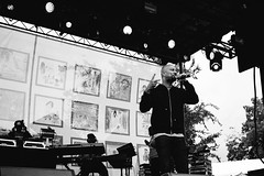Can I Borrow A Dollar ? (JMJ Cinematics) Tags: brooklyn nyc common hiphop rap music newyorkcity concert artist musician blackandwhite monochrome monochromatic 35mm jmjcinematics josemiranda streetphotography concertphotography prospectpark nuevayork newyork ny freelancephotographer gettyimages nycphotographer photojournalist photojournalism rapper