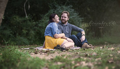 Girl I never loved one like you (taylormackenzie) Tags: couple boyfriend girlfriend love loving happy laughing smile leaves autumn fall fireflies lightening bugs trees grass green yellow dress depth focus dof outside