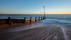 Hayling Island (chrisbutton68) Tags: longexposure sunset sea beach horizontal coast sand harbour outdoor dusk tide scenic erosion shore portsmouth protection groyne chichesterharbour langstone langstoneharbour longshoredrift havant