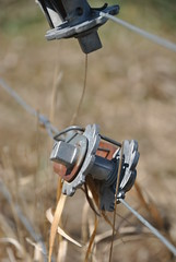 Tightening (Let Ideas Compete) Tags: lake fence wire colorado boulder coot stretcher crank ratchet tighten tightening wratchet