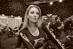 Amy Louise Cawthra At Manchester Bike Show 2015 (Tanvir's Pics 2010) Tags: show city bike manchester amy event louise 2015 cawthra