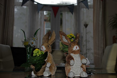 Happy Easter! (Jainbow) Tags: bunnies easter table room sunday dining rabbits lidl jainbow