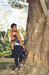 Axl (Monycka Morales) Tags: street trees light boy summer portrait people man tree male art nature fashion photoshop portraits pose asian fun person photography lights amazing cool model nikon asia warm frost asians photoshoot shot post riverside natural native fierce philippines models streetphotography handsome teenagers teens ps teen jacket photographs photograph adobe portraiture statement teenager 16 process ph processed pinoy photoshoots pinoys lightroom streetfashion humanities nikonian portraitphotography funshoot paulinian teenstyle teenfashion summerfrost d5100