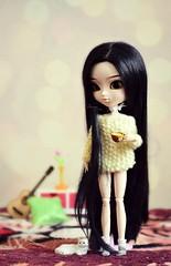 Sharon [Pullip Nana-chan] (Dekki) Tags: fashion asian doll dolls sharon planning groove pullip jun nanachan obitsu junplanning rewigedd rechipedd