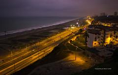 Costa Verde (hectorfranciscofoto) Tags: beach noche highway lima per sanisidro costaverde