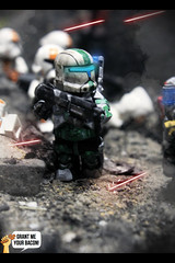 RC-1140 | Fixer (Grant Me Your Bacon!) Tags: boss trooper star republic lego sev wars custom clone commando scorch fixer
