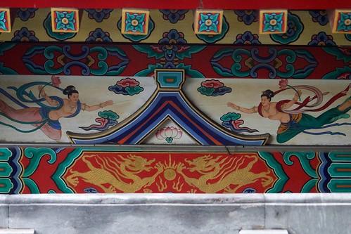 Great Buddha Hall (弥陀宝殿, mítuó bǎodiàn) bracket work