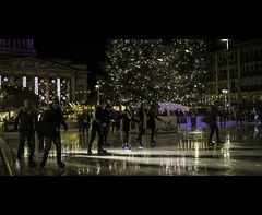 My go at Cinematography.......Hmmmmmm. (kevaruka) Tags: christmas street xmas city nottingham uk greatbritain england people urban color colour ice colors rain night canon shopping fun photography evening flickr december colours time unitedkingdom iceskating centre 5d fullframe cinematography frontpage nottinghamshire shoppers drmartens airwair 2014 1635 canonef135f2l canon5dmk3 5dmk3 5d3 5diii thephotographyblog canoneos5dmk3 ilobsterit