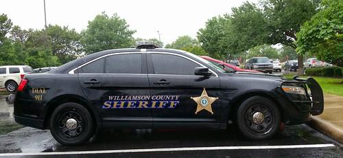Williamson County, TX Sheriff Ford Police Interceptor - a