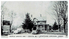 Maple Grove Inn, Stafford Springs, CT (63vwdriver) Tags: sign vintage maple inn post grove connecticut ct route card springs 20 190 stafford