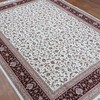 260Lines Wool/Silk Carpet, 250x350cm  Whatsapp: 0086 152 2512 2140 (Harry)  #woolsilkcarpet #woolsilk #bokharacarpets #bokhara #bokhararug #wool #woolcarpet #woolrugs #kashmiri #iran #handmadeiran #carpetiran #heriz #herizcarpet #herizprice #herizrug #uni