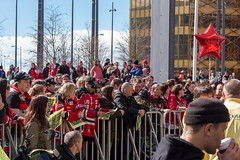 I vntan (MagnusBengtsson) Tags: hockey sverige malm mif redhawks shl skneln firande hockeyallsvenskan malmredhawks malmarena