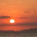 E um pôr-do-sol no Pacífico