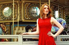 Facile (MKStallings Photography) Tags: carnival red portrait beauty fashion circus carousel fair kemah
