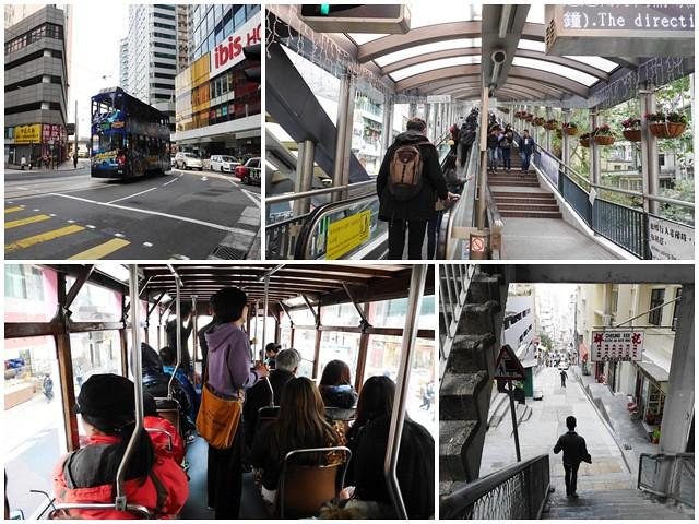 香港景點中環半山手扶梯叮叮車中環街市逛街page