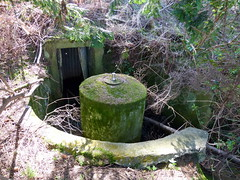 WW2 Spigot Mortar Emplacement (7) (lairig4) Tags: river scotland war mortar ww2 defence spigot emplacement doune teith deanston