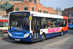 Stagecoach Merseyside & South Lancashire 27155 SN64OJD (Will Swain) Tags: city uk travel england west bus buses liverpool march britain south centre north transport lancashire seen stagecoach 19th merseyside 2015 27155 sn64ojd
