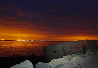 Sunset - Humber Estauary
