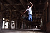 #GuysDanceToo (lenscapkid) Tags: alexis portrait guy abandoned 50mm dance jump nikon dancer hip hop ziemski balletincleveland
