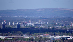The Etihad Stadium From Werneth Low (Mike Serigrapher) Tags: city manchester stadium etihad